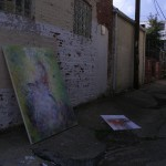 The art we found in the alley.