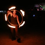 My favorite was watching the fire dancers.